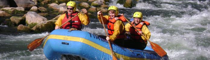 attività rafting