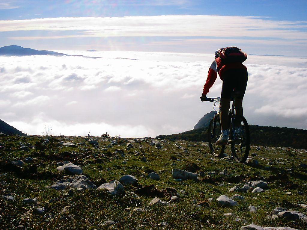 attività mountainbike